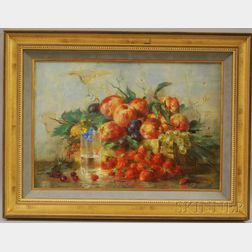 Nikolai Kozlenko (Russian, b. 1952)      Still Life with Fruit