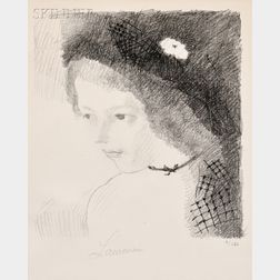 Marie Laurencin (French, 1885-1956)      Suzanne