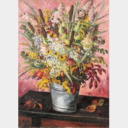 Waldo Pierce (American, 1884-1970)      Autumn Flowers