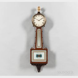 "Waltham Clock Co. ""Simon Willard"" Patent Timepiece or ""Banjo"" Clock"