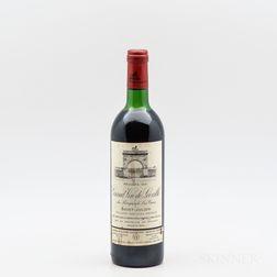 Chateau Leoville Las Cases 1981, 1 bottle