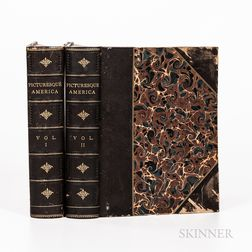 Bryant, William Cullen, ed. (1794-1878) Picturesque America; or, the Land We Live In
