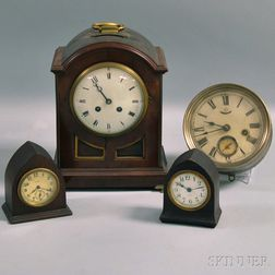 Group of Four Clocks