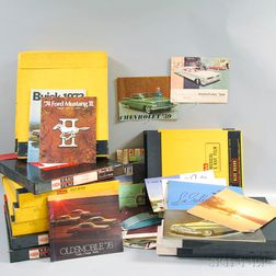 Collection of Vintage Car Catalogs
