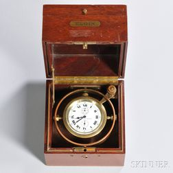 "Elgin ""Father Time"" Deck Chronometer"