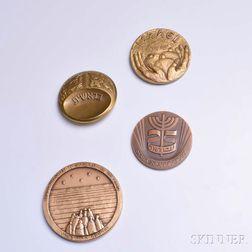 Four Israeli/Jewish Bronze Medals