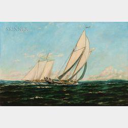 William P. Stubbs (Maine/Massachusetts, 1842-1909)      Sailing Yachts