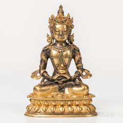 Gilt-bronze Figure of Avalokitesvara