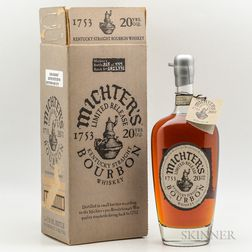 Michters 20 Years Old, 1 750ml bottle (oc)