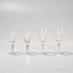 Twenty-three Waterford Crystal Wineglasses