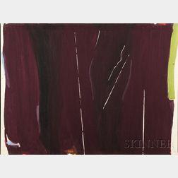 Jack Roth (American, 1927-2004)      La Ligne Tremblante-18