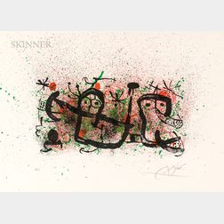 Joan Miró (Spanish, 1893-1983)      Plate 5