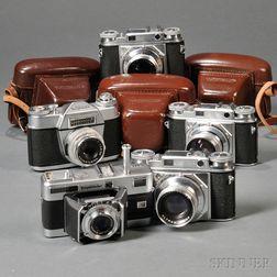 Five Voigtlander Cameras