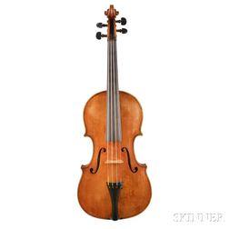 American Violin, William B. Knox, Utica, 1909