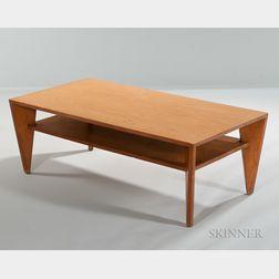 Leslie Diamond for Conant and Ball Birch Veneer Coffee Table