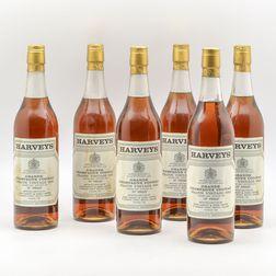 Harveys Frapin Grand Champagne Cognac 1943, 6 24oz bottles