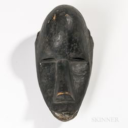 African Wood Mask