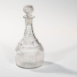 George III Glass Decanter