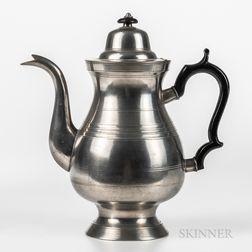 Allen Porter Pewter Coffeepot