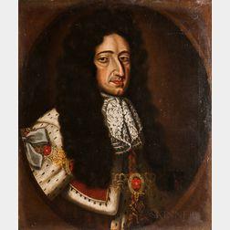 After Willem Wissing (Dutch, 1656-1687)      Portrait of William III