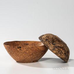 Two Burl Bowls