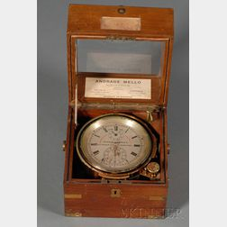 Two-day Marine Chronometer by Graham & Parkes