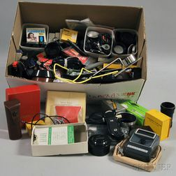 Collection of Miscellaneous Camera Accessories