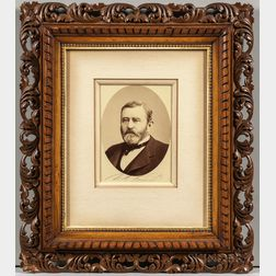 Grant, Ulysses S. (1822-1885) Signed Photograph.
