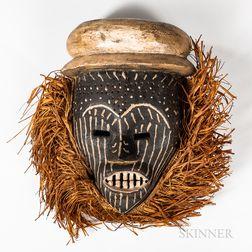 Wood Ituri Face Mask