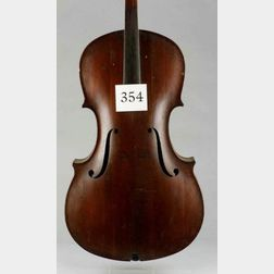 American Bass Viol, 19 th Century