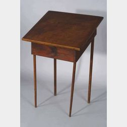 Shaker Pine and Cherry Desk on Stand