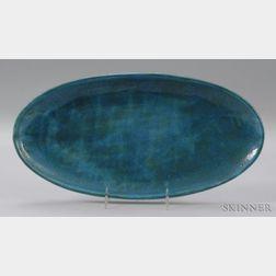 Leon Volkmar Durant Kilns Glazed Art Pottery Plate