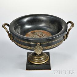 French Empire Patinated Bronze Urn