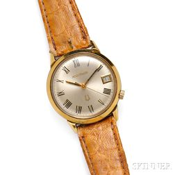 "18kt Gold ""Accutron"" Wristwatch, Bulova"