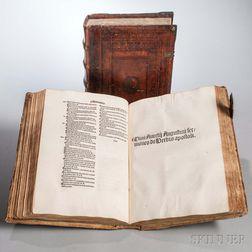 Augustinus, Aurelius (354-430) I) Sermones ad heremitas; II) Sermones de verbis Domini; III) Sermones de verbis apostoli; IV) Sermones