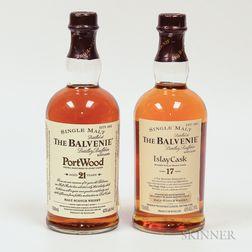 Mixed Balvenie, 2 750ml bottles