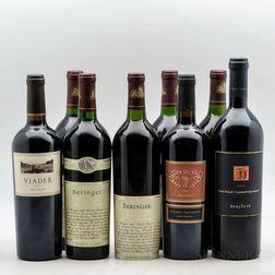 Mixed Napa Wines, 8 bottles