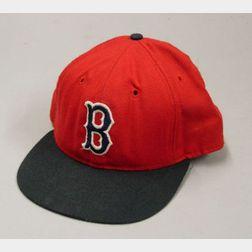 Carl Yastrzemski Boston Red Sox No. 8 Game-Used Hat.