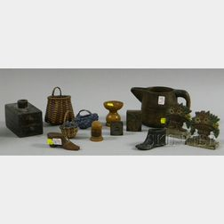 Thirteen Small Decorative Items