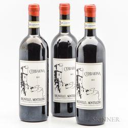 Cerbaiona Brunello di Montalcino 2011, 3 bottles