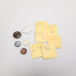 Small Group of Mostly Copley Reproduction Colonial Coins