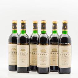Chateau Meyney 1986, 6 bottles