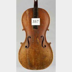 American Bass Viol, 19th Century