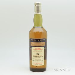 Clynelish 22 Years Old 1972, 1 750ml bottle