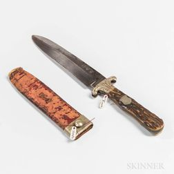 Spear Point Bowie Knife