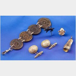 Group of Gentleman's Jewelry Items