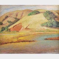 Charles M. Lesaar (American, 1884-1941)      California Hills.