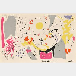 After Roberto Matta (Chilean, 1911-2002)      Sun Dice