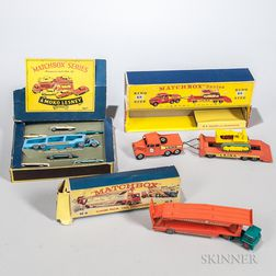 Three Lesney Matchbox Items
