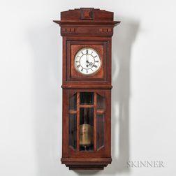 Gustav Becker Wall Timepiece